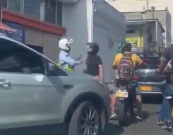 Cali Distrito Movilidad rechaza ataques a oficiales de tránsito