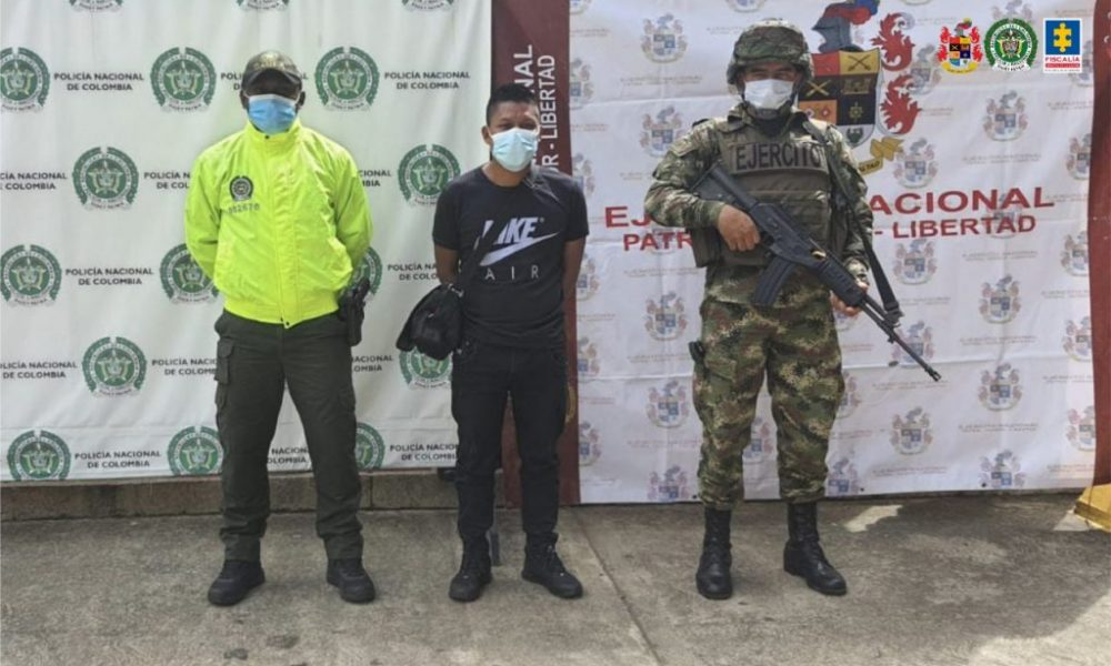 Cárcel para alias Ronal, presunto cabecilla de grupo disidente Dagoberto Ramos