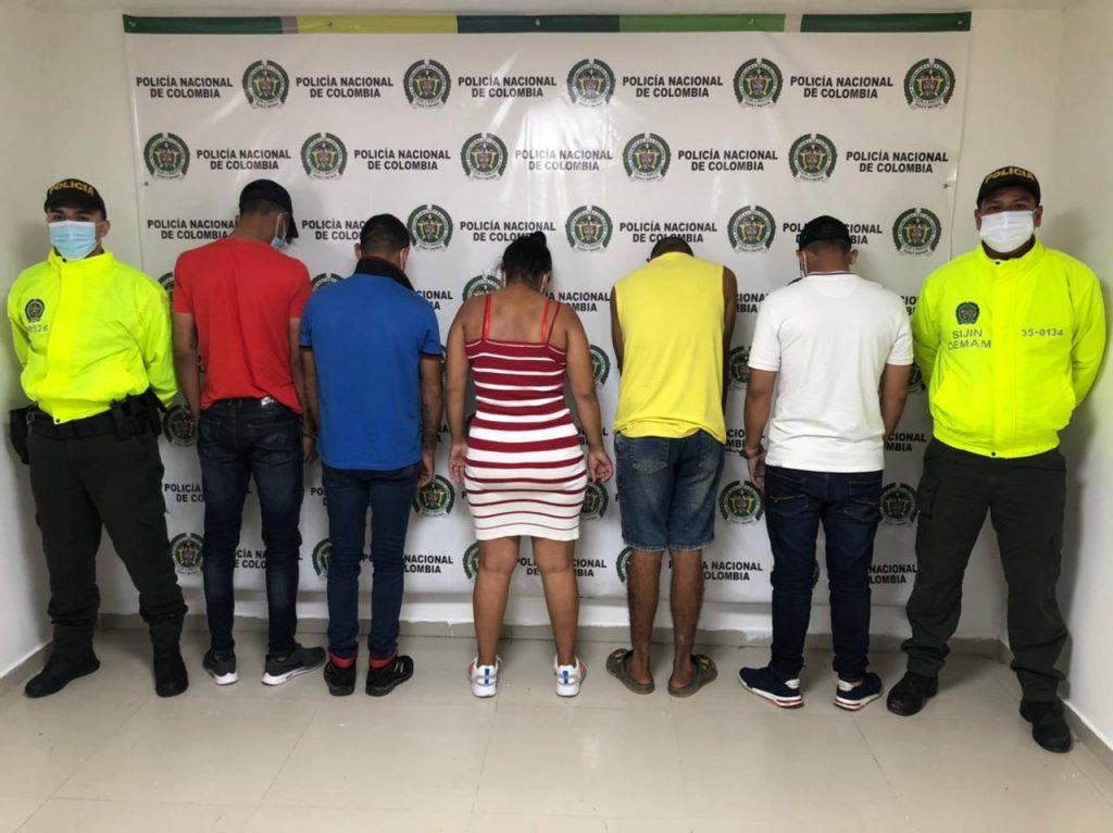 Cárcel para cinco presuntos integrantes del Clan del Golfo en el Magdalena Medio - Noticias de Colombia
