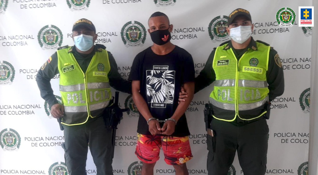 Cárcel para presuntos homicidas de un patrullero de la Policía Nacional en Atlántico - Noticias de Colombia