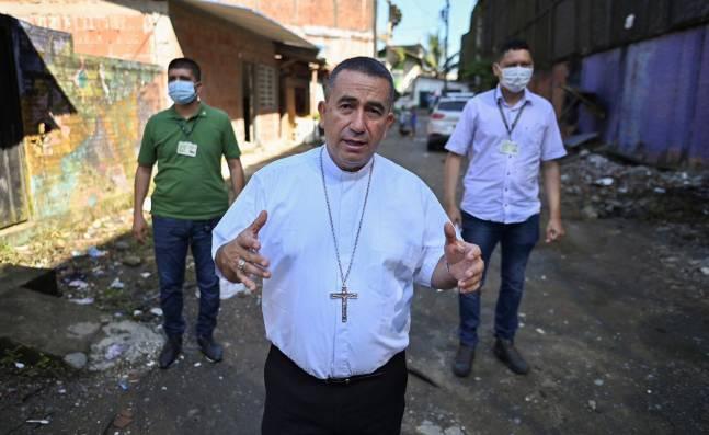 """""""Comunidad de Buenaventura tiene miedo de salir a las calles"""": Obispo Jaramillo"""