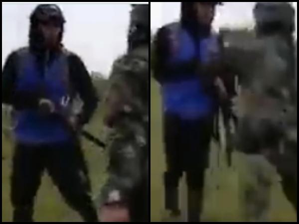Con fusil y machetes en mano terminaron 'enfrentados' militares y Guardia Indígena en el Cauca - Noticias de Colombia