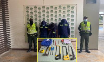 Con uniformes falsos, atajos y haciéndose pasar por empleados, le robaron el cableado a Yumbo. - Noticias de Colombia