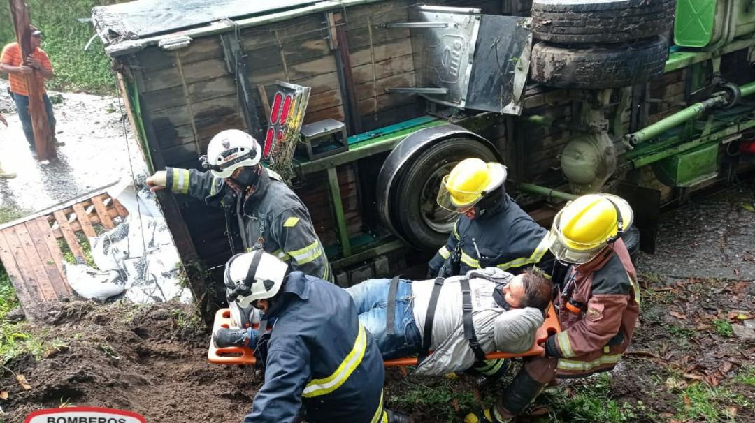 Cuatro personas heridas en accidentes de tránsito en el Líbano, Tolima - Noticias de Colombia