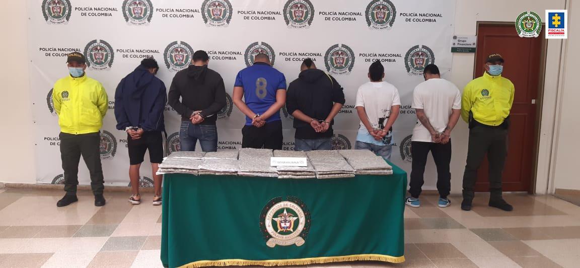 Desarticulada la estructura delincuencial Sodoma, al parecer, responsable de distribuir marihuana en Armenia - Noticias de Colombia
