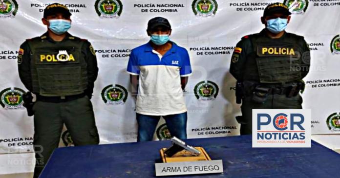 EN PUERTO CARREÑO, CAPTURADO UN SUJETO POR EL DELITO DE FABRICACION, TRAFICO, PORTE O TENENCIA DE ARMAS DE FUEGO, ACCESORIOS PARTES O MUNICIONES. - Noticias de Colombia