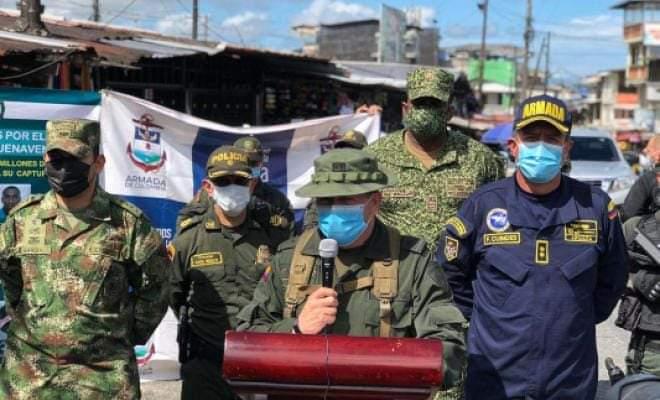 El alcalde Víctor Vidal pide intervención militar para Buenaventura al gobierno nacional