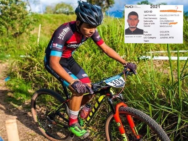 Un ciclista de El Valle viajó a Italia para participar en el Mundial pero el Fedeciclismo se olvidó de inscribirlo