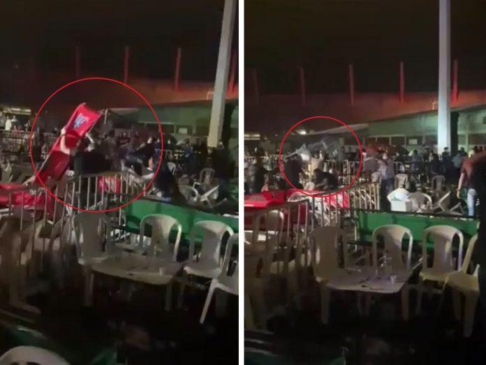 """El concierto en Cali terminó no solo con una pelea y sillas voladoras, """"no se observaron medidas de bioseguridad"""" - Noticias de Colombia"""