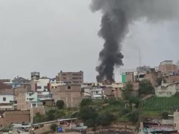 La emergencia que se vivió en Ipiales por el incendio estructural en la Carrera Sexta