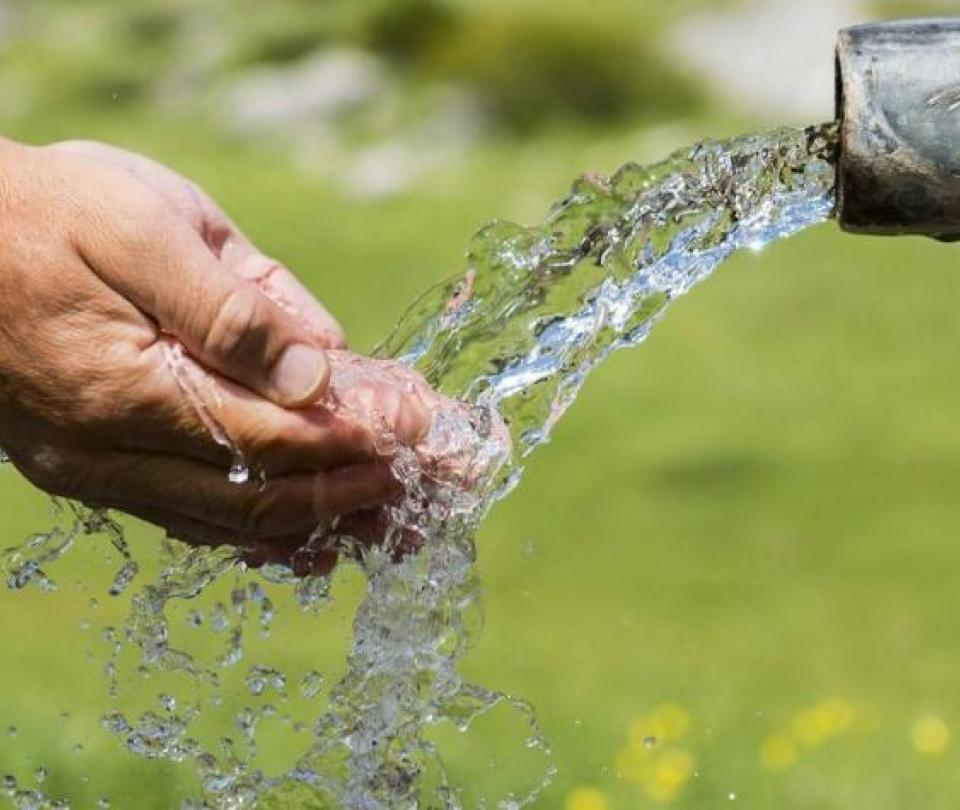 En 5 meses, se entregaron 9 obras de agua y saneamiento | Infraestructura | Economía