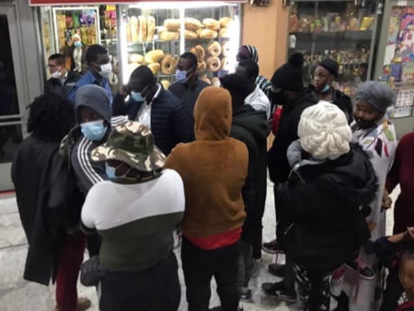 En Nariño vendieron tiquetes a 1.500 haitianos para que sigan su tránsito al resto del país
