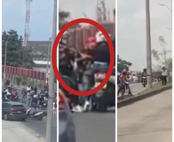 """""""Eran como ratas saliendo de las alcantarillas, como 40 creo"""", víctima de la caravana motorizada en Cali - Noticias de Colombia"""