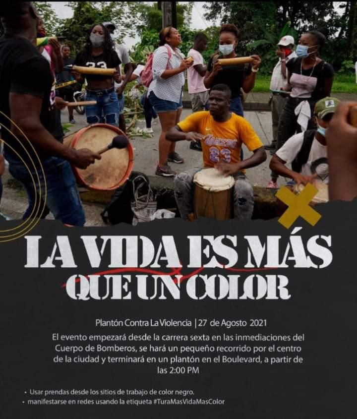 Este viernes 27 de agosto se llevará a cabo un plantón por la vida en Buenaventura