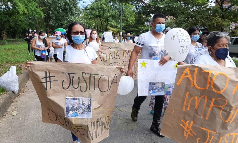 Exigen justicia por la muerte de Jorge Alberto Naranjo Rodríguez