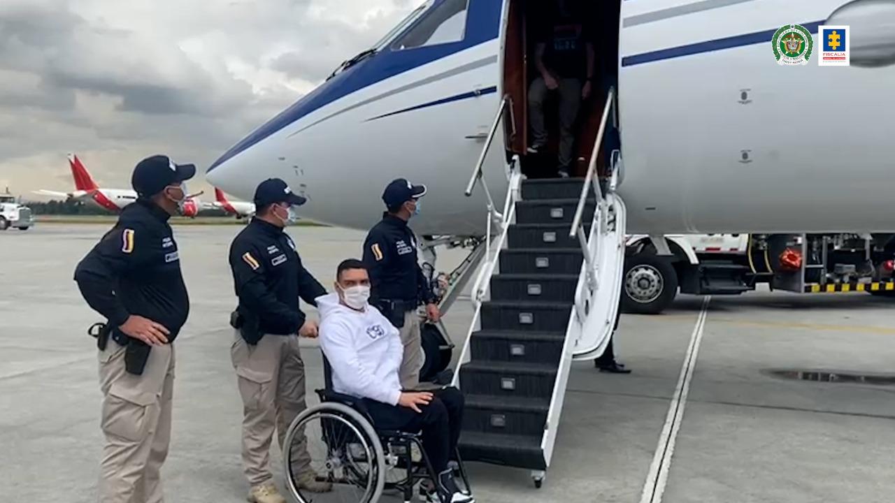 Extraditado 'La Silla' o 'Doble Rueda' por su presunta participación en el envío de cocaína a Estados Unidos - Noticias de Colombia