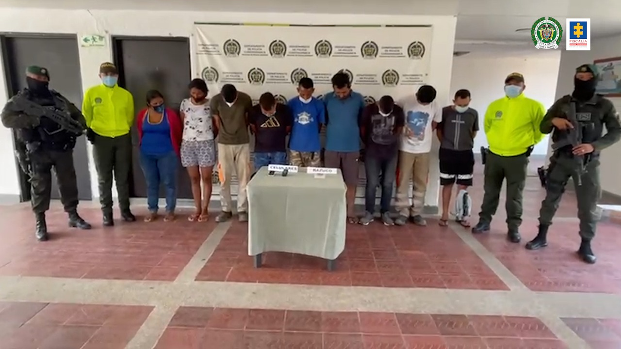 Fiscalía impactó a banda delictiva denominada Los Tamal dedicada al tráfico de drogas en el Tolima - Noticias de Colombia