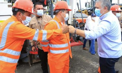 Gobierno Nacional reactiva las obras en el proyecto Malla Vial del Meta | Infraestructura | Economía