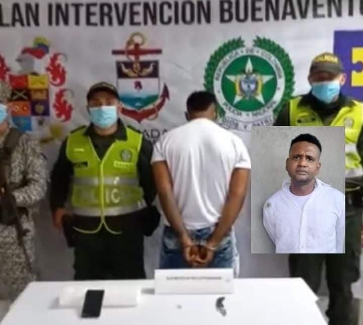 Hombre fue capturado tras haber sido sorprendido cometer un robo a mano armada en Buenaventura