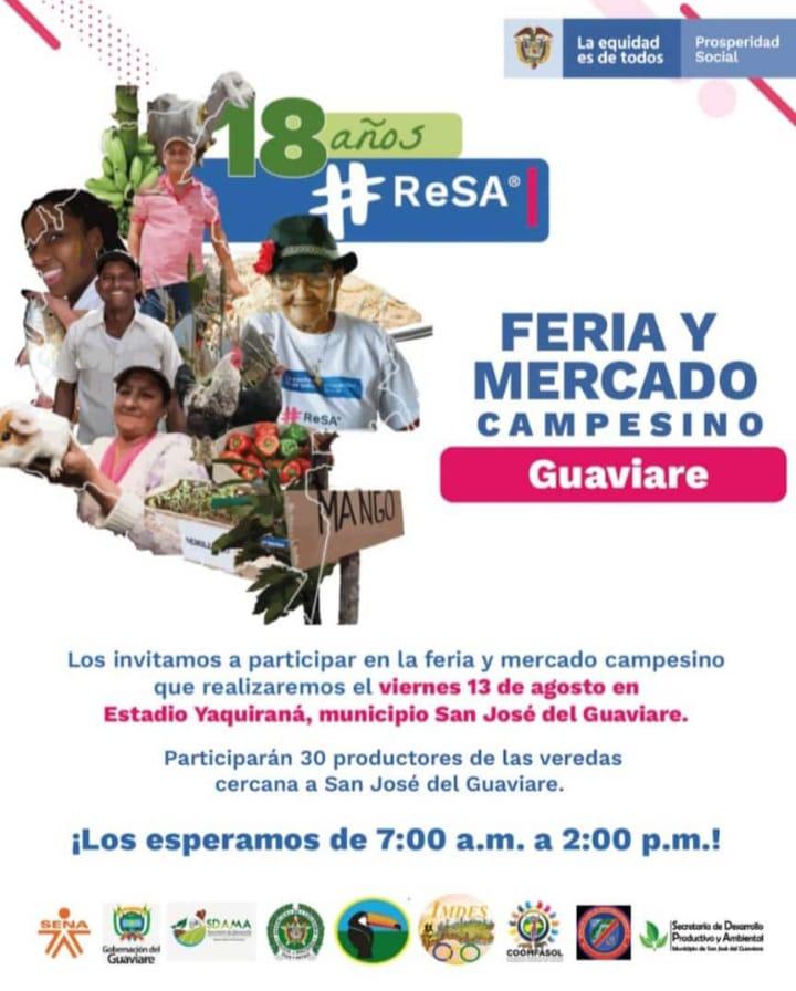 Hoy mercado campesino en San José del Guaviare