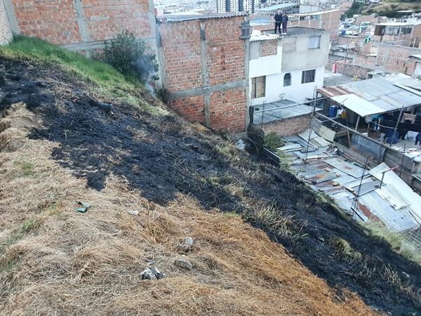 Incendios siguen 'ahogando' a Pasto, ahora ocurrió en el oriente de la ciudad