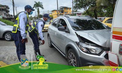 Incremento en los accidentes de tránsito en Buenaventura