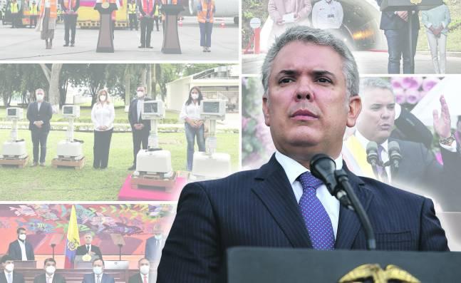 Iván Duque empieza así su último año como Presidente de Colombia