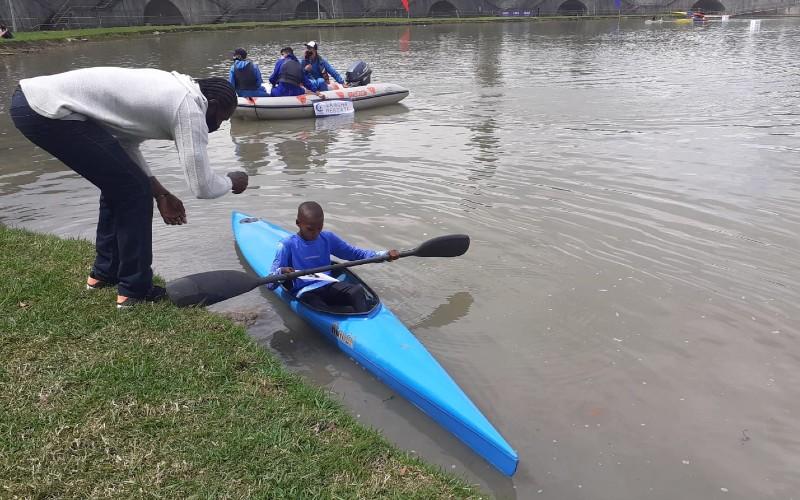 Jóvenes de Unguía (Chocó) ganaron oro y plata en competencia de canotaje en Bogotá. - Noticias de Colombia