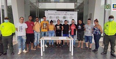Judicializados 11 presuntos integrantes del grupo delincuencial Los Maras, dedicados a la venta de estupefacientes en Cúcuta - Noticias de Colombia
