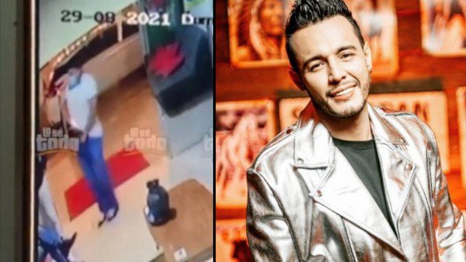 Le apuntó con una pistola, Alexis Escobar víctima de robo en el lobby de un hotel en Medellín - Noticias de Colombia
