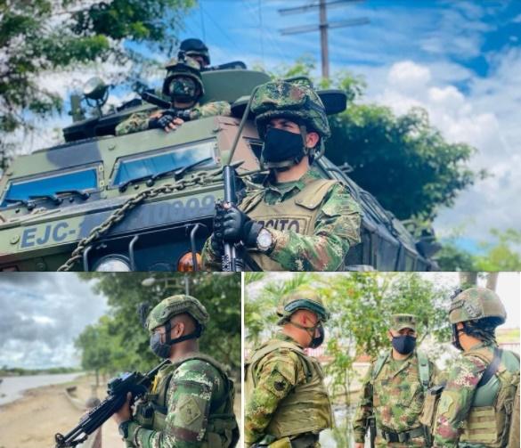 Llega a Arauca nuevo pelotón de Fuerzas Especiales Antiterroristas Urbanas - Noticias de Colombia