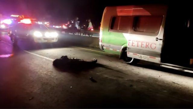 Motociclista murió en trágico accidente en la vía Armenia-Circasia - Noticias de Colombia