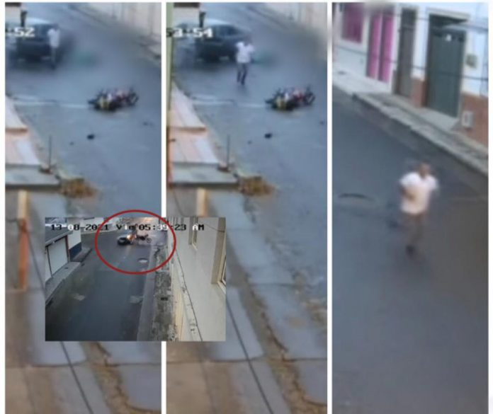 Accidente de vehículo de motor en el valle de Sevilla
