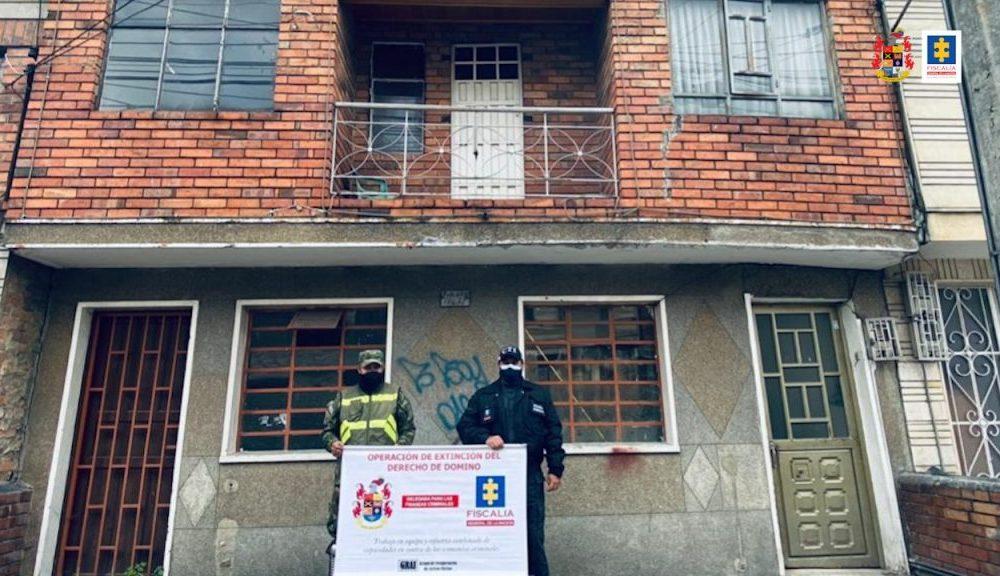 Ocupados bienes de integrantes de la Policía Nacional y particulares que harían parte de una red de tráfico de estupefacientes