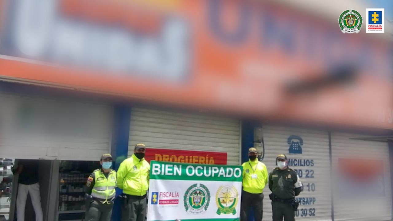 Ocupados bienes que habrían sido usados por una red delincuencial señalada de alterar medicamentos de alto costo y comercializarlos en diferentes ciudades del país - Noticias de Colombia