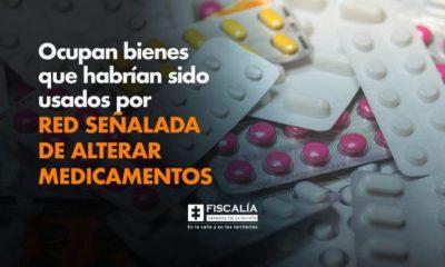 Ocupan bienes que habrían sido usados por red señalada de alterar medicamentos - Noticias de Colombia