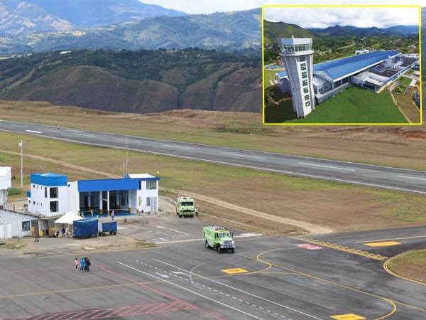 Otra vez cerrarán el aeropuerto Antonio Nariño de Pasto para rehabilitar la pista y calle de rodaje