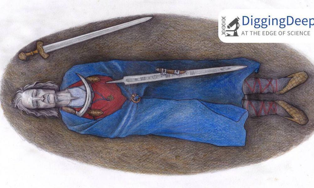Restos de 1.000 años cuentan la historia del guerrero no binario de Finlandia