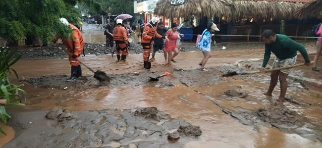 Santa Marta colapsó por fuerte aguacero - Noticias de Colombia