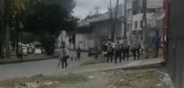 Sujetos no identificados agredieron a agentes de tránsito en Buenaventura