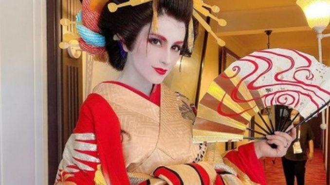 """""""Total cambio"""", Jessica Cediel se vistió de geisha - Noticias de Colombia"""