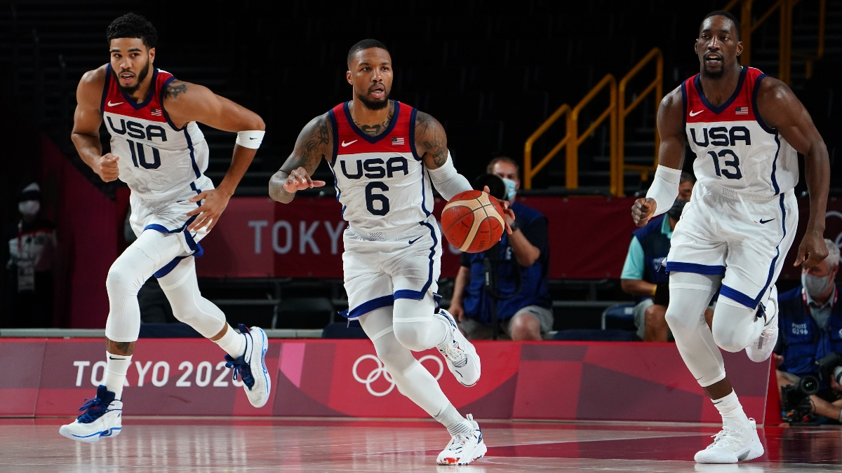 Watch Olympic Men's Basketball Game