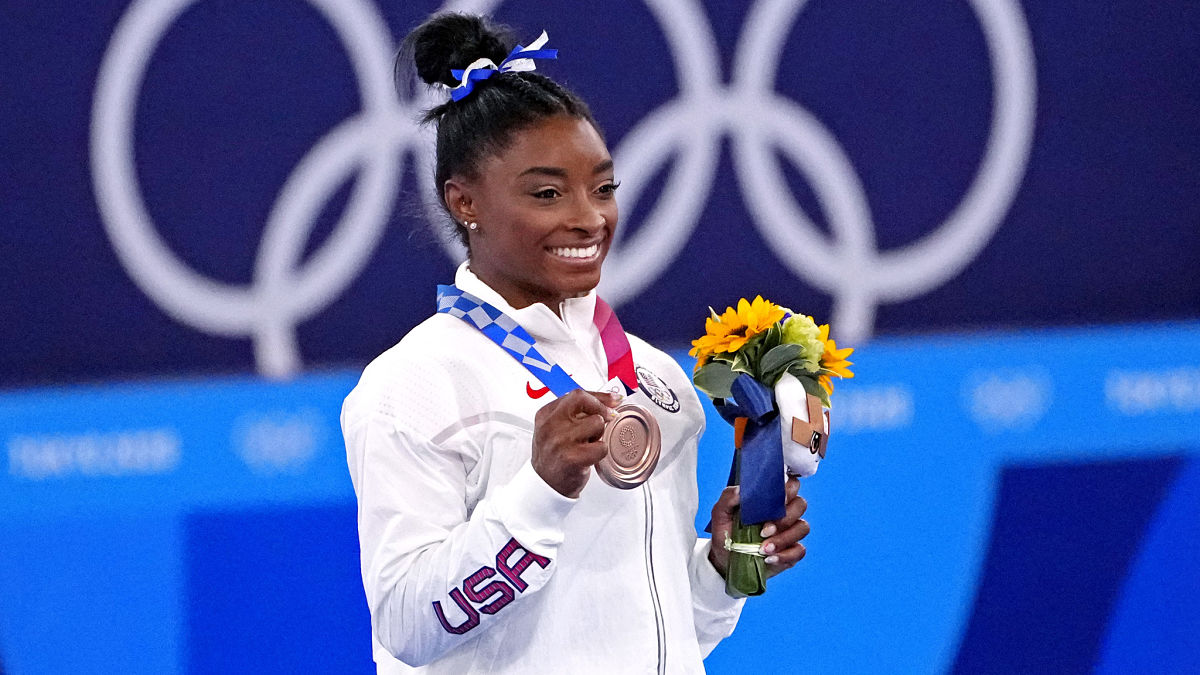 What Bronze Medal At Tokyo Olympics Means To Simone Biles
