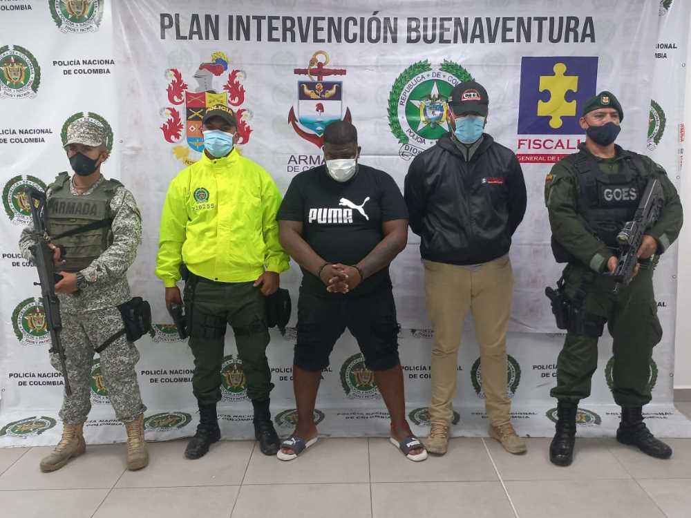 Capturan en Buenaventura a alias 'Don Berna', presunto integrante del grupo delincuencial organizado, 'la local'