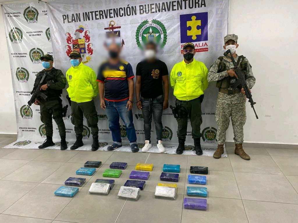 Incautan cocaína en el centro de Buenaventura