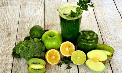 jugo verde, nutrición