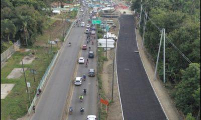 ¡Ese sería el encanto!  Según el ayuntamiento, otra obra en la carretera Cali Jamundi se entregaría en menos de 20 días