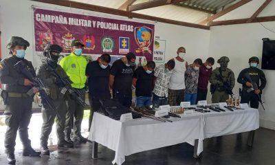 7 presuntos integrantes de la disidencias del Frente 48 de las farc fueron mandados a prisión
