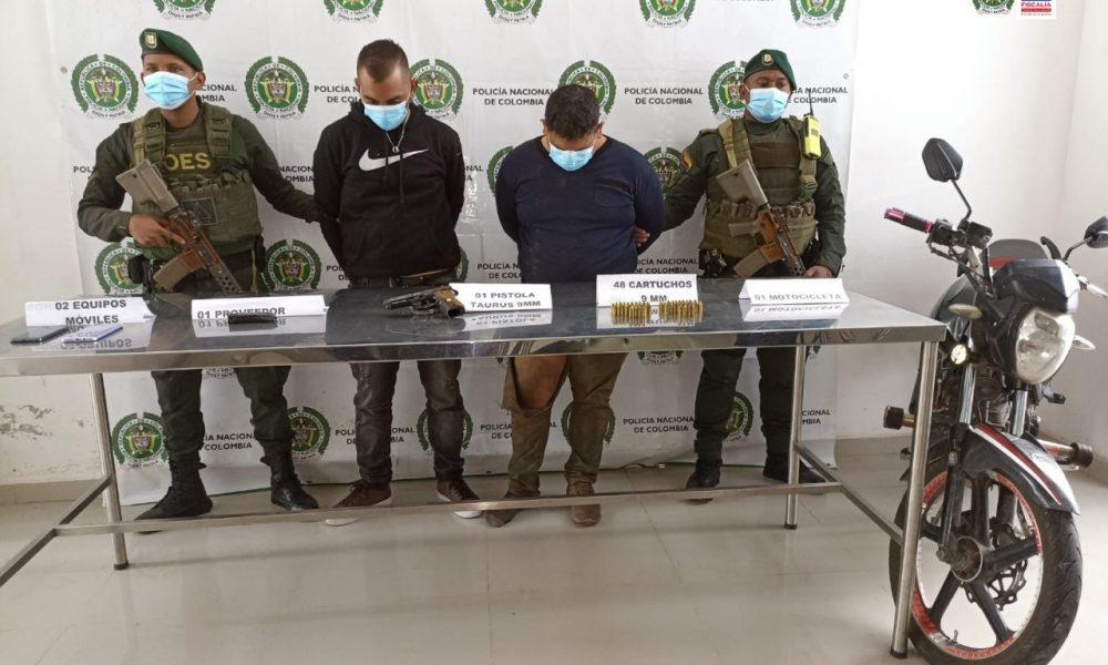 A la cárcel dos hombres que habrían atacado con una granada y armas de fuego a patrulla de la Policía en Ipiales (Nariño)