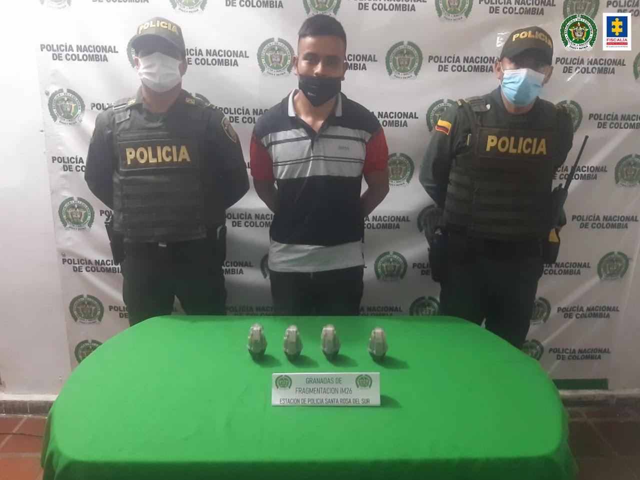 A la cárcel por porte de municiones de uso privativo de las fuerzas armadas - Noticias de Colombia